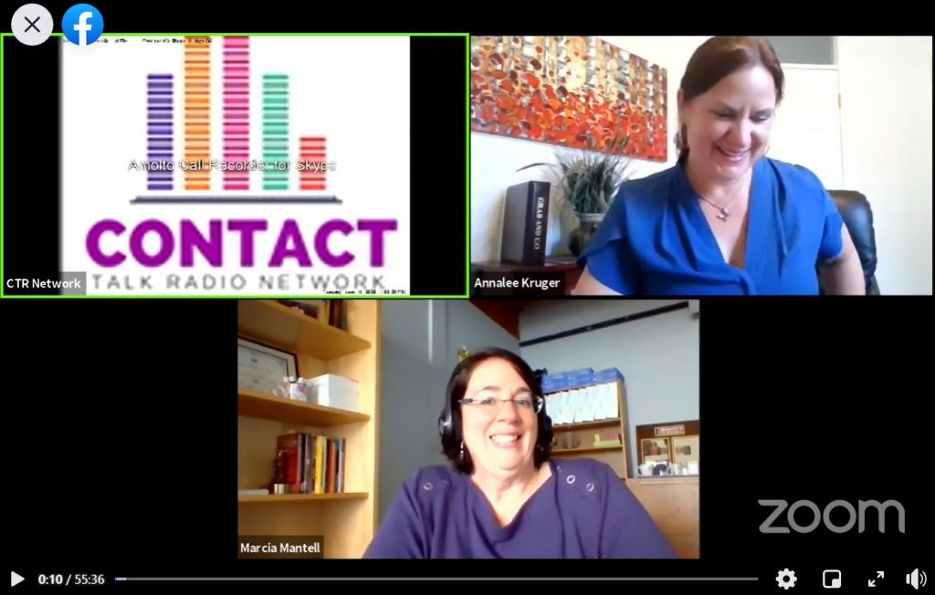 Retirement talk with Marcia Mantell