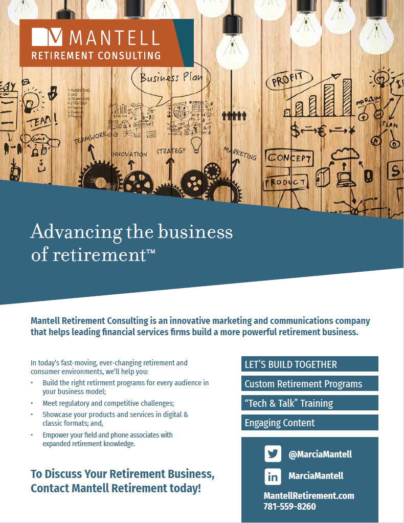 Advancing the business of retirement