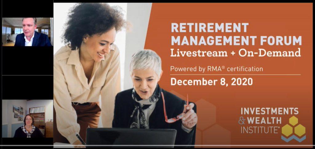 retirement training for financial advisors